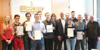 Studierendenexkursion zu wezi-med nach Dillenburg