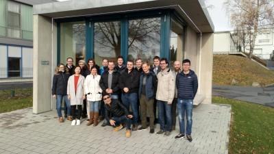 Studierenden-Exkursion zu Harry's Feintechnik GmbH Eisfeld